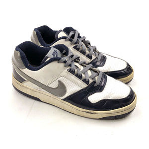 Vintage Nike Air Delta Force Low  Navy Silver 10.5